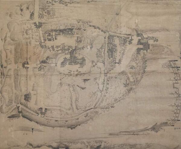 平等院境内古図(甲本)_⑩仮張り乾燥_後期.jpgのサムネイル画像